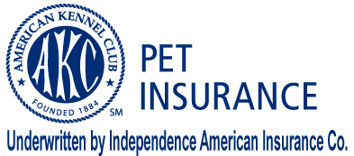 Round AKC Pet Insurance logo